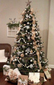 Trendy Diy Christmas Trees Design Ideas That Using Simple Free Materials22