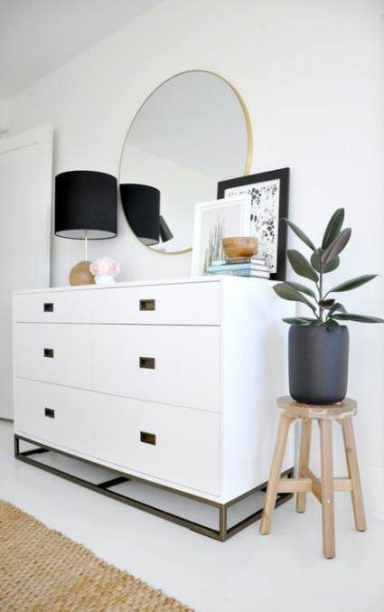 Attractive Bedroom Dressers Ideas With Mirrors To Try This Year34