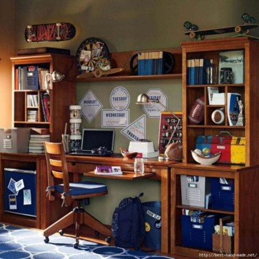 Attractive Study Room Designs And Decorative Ideas For Your Sons Little Surprise02