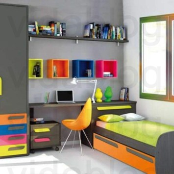 Attractive Study Room Designs And Decorative Ideas For Your Sons Little Surprise05
