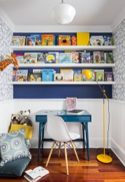 Attractive Study Room Designs And Decorative Ideas For Your Sons Little Surprise21