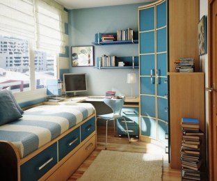 Attractive Study Room Designs And Decorative Ideas For Your Sons Little Surprise22