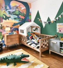 Awesome Kids Bedroom Wall Decorations Ideas That Will Make Fun Your Kids Room06