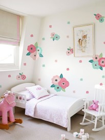 Awesome Kids Bedroom Wall Decorations Ideas That Will Make Fun Your Kids Room07