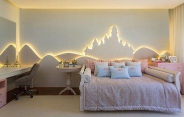 Awesome Kids Bedroom Wall Decorations Ideas That Will Make Fun Your Kids Room25
