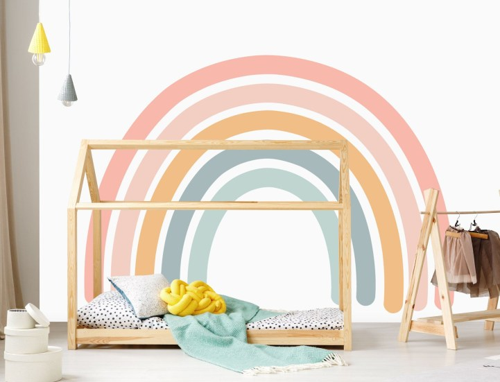 Awesome Kids Bedroom Wall Decorations Ideas That Will Make Fun Your Kids Room32