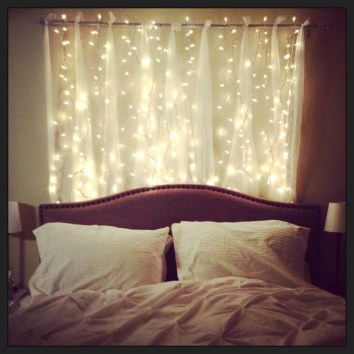 Best String Lights Ideas For Bedroom To Try Asap08
