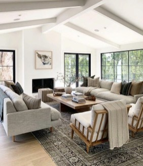 Impressive Family Room Designs Ideas That Looks So Cute20