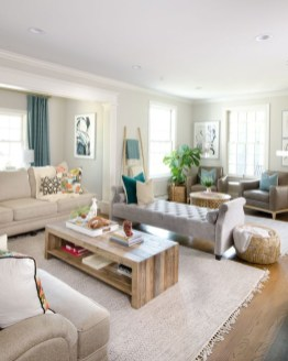 Impressive Family Room Designs Ideas That Looks So Cute21