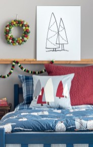 Latest Christmas Bedroom Decor Ideas For Kids To Try03
