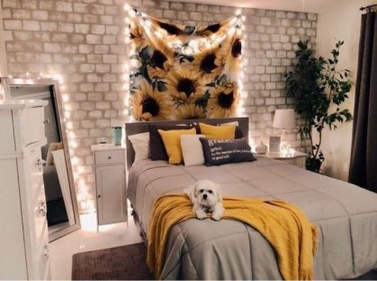 Latest Diy Sunflower Bedroom Decoration Ideas To Try Asap13
