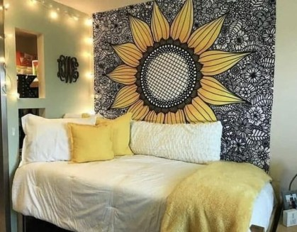 Latest Diy Sunflower Bedroom Decoration Ideas To Try Asap14