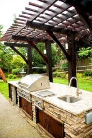 Newest Diy Outdoor Kitchen Designs Ideas On A Budget33