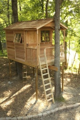 Rustic Diy Tree Houses Design Ideas For Your Kids And Family24