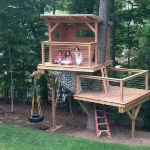 Rustic Diy Tree Houses Design Ideas For Your Kids And Family29