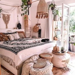 Stylish Bohemian Style Bedroom Decor Design Ideas To Try Asap03