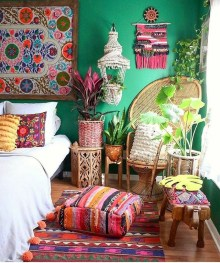 Stylish Bohemian Style Bedroom Decor Design Ideas To Try Asap09