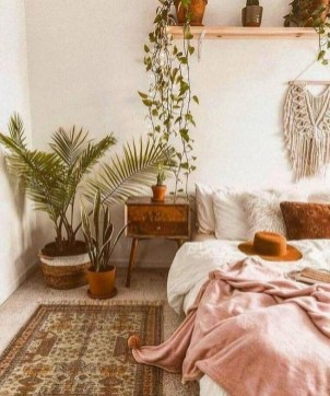 Stylish Bohemian Style Bedroom Decor Design Ideas To Try Asap16