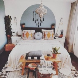 Stylish Bohemian Style Bedroom Decor Design Ideas To Try Asap30