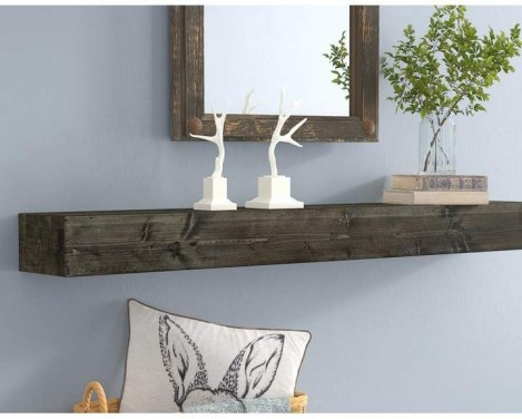 Unusual Diy Reclaimed Wood Shelf Design Ideas For Brilliant Projects14