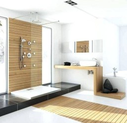 Astonishing Japanese Contemporary Bathroom Ideas That You Need To Try23