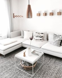 Comfy Small Living Room Decor Ideas For Your Apartment26