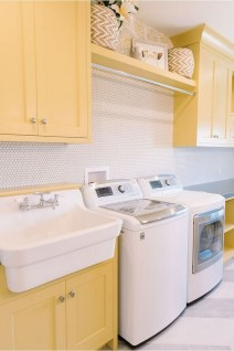 Cozy Laundry Room Tile Pattern Design Ideas To Try Asap04