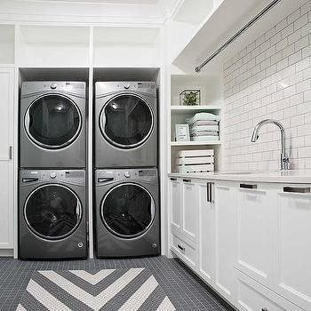 Cozy Laundry Room Tile Pattern Design Ideas To Try Asap06