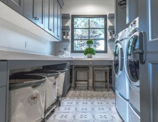 Cozy Laundry Room Tile Pattern Design Ideas To Try Asap11