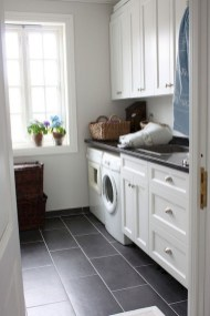 Cozy Laundry Room Tile Pattern Design Ideas To Try Asap15