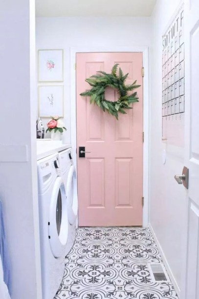 Cozy Laundry Room Tile Pattern Design Ideas To Try Asap18