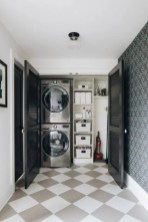 Cozy Laundry Room Tile Pattern Design Ideas To Try Asap29