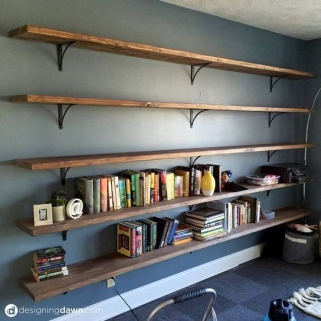 Extraordinary Bookshelf Design Ideas To Decorate Your Home More Beautiful27