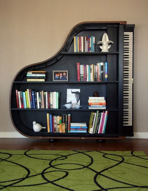 Extraordinary Bookshelf Design Ideas To Decorate Your Home More Beautiful28