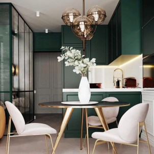 Gorgeous Gold Color Interior Design Ideas For Your Home Style To Copy02