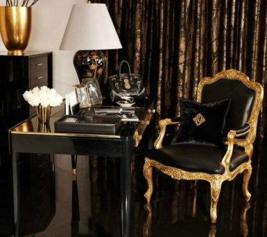 Gorgeous Gold Color Interior Design Ideas For Your Home Style To Copy31