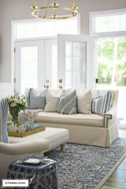 Pretty Coastal Living Room Decor Ideas That Looks Awesome16