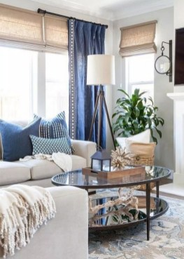 Pretty Coastal Living Room Decor Ideas That Looks Awesome17