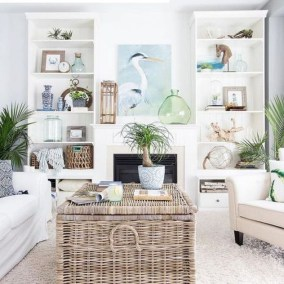 Pretty Coastal Living Room Decor Ideas That Looks Awesome21