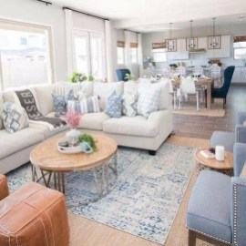 Pretty Coastal Living Room Decor Ideas That Looks Awesome23