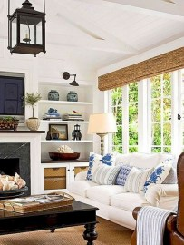 Pretty Coastal Living Room Decor Ideas That Looks Awesome27