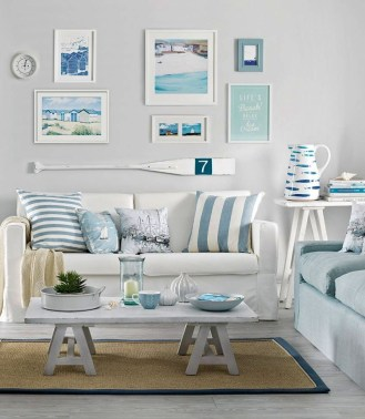 Pretty Coastal Living Room Decor Ideas That Looks Awesome29