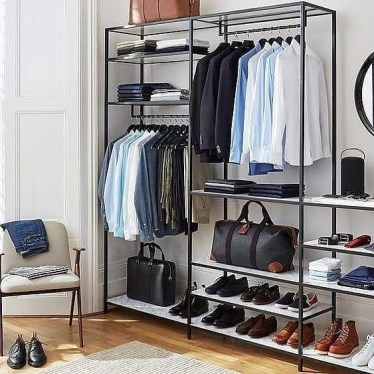 Pretty Wardrobe Design Ideas That Can Try In Your Home33