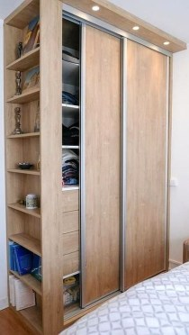 Pretty Wardrobe Design Ideas That Can Try In Your Home36