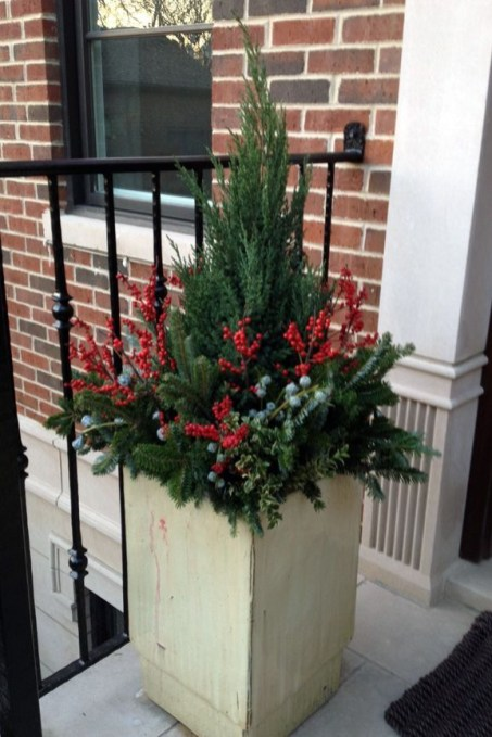 Sophisticated Container Garden Flower Ideas For This Winter To Try34
