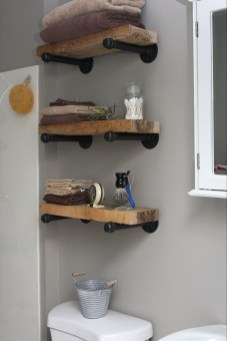Stunning Diy Pipe Shelves Design Ideas That Looks Awesome19