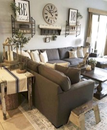 Top Farmhouse Style Living Room Decor Ideas That Looks Adorable32