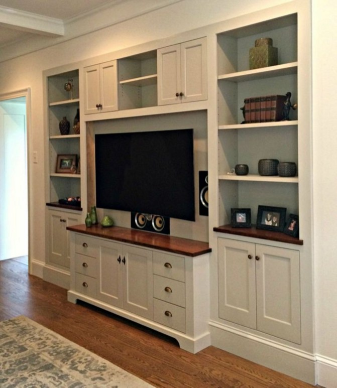 Unordinary Entertainment Centers Design Ideas You Must Try In Your Home18