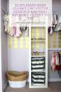 32 Splendid Baby Closet Organizer Design Ideas That Without Closet To Try