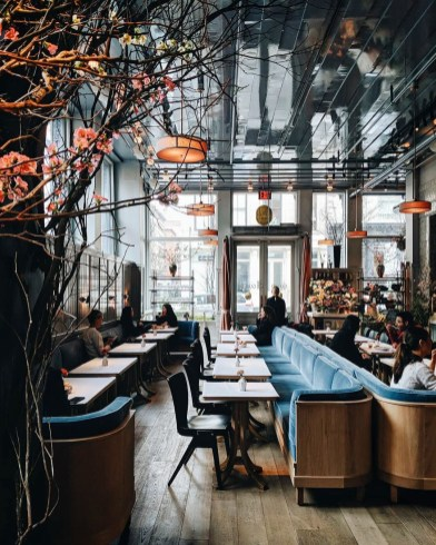 Brilliant Restaurant Design Ideas That Will Make Your Customers Cozy37